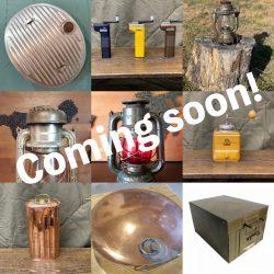 海外のアンティーク商品を自社オークションで販売開始します。